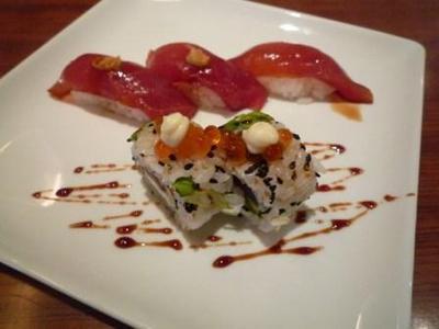 おもろハウスの寿司プレート